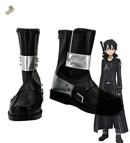Cosplay Boots Shoes for Sword Art Online Ordinal Scale Kazuto Kirigaya Kirito