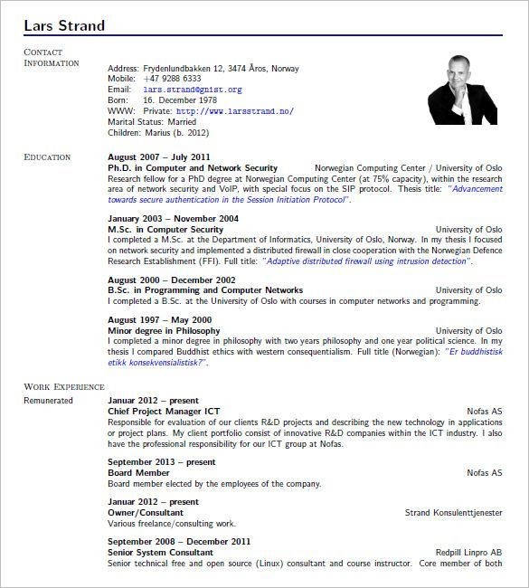 cv template in latex cvtemplate latex template resume templates
