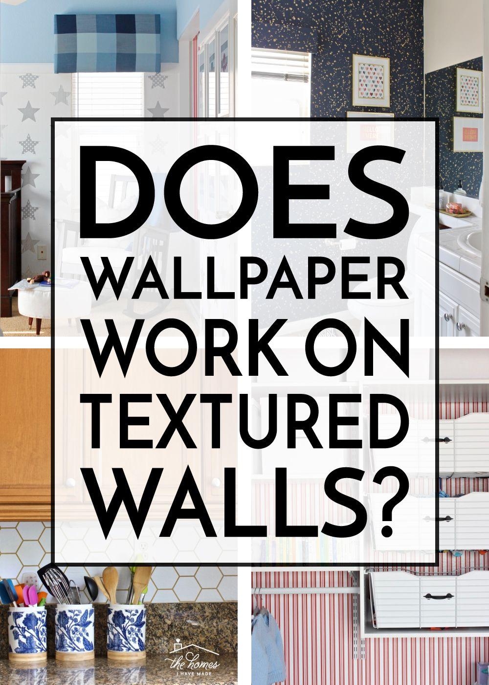 Can You Wallpaper Textured Walls Textured Walls Wallpaper Trends Wallpaper Project