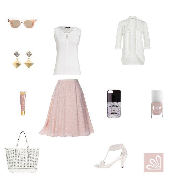Evening Outfit: Zart in Rosé. Mehr zum Outfit unter: http://www.3compliments.de/outfit-2015-07-25-x#outfit2