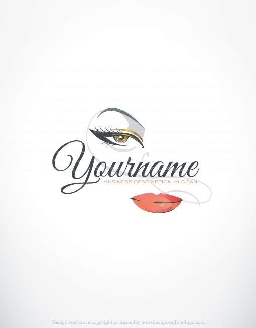 Exclusive Logos Store - Face Makeup Logo design | Makeup ...