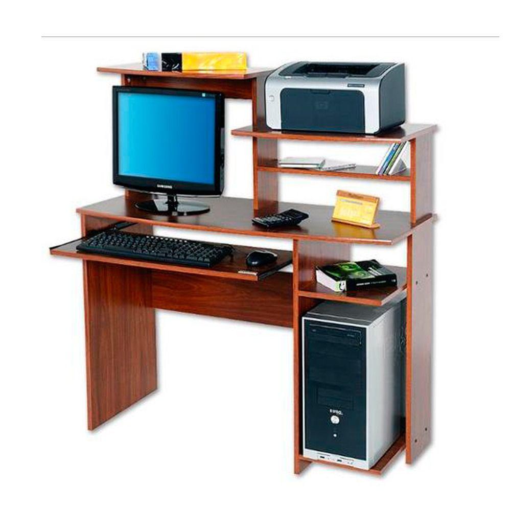 Mesa Escritorio Pc Platinum Mod 9017 Linea Oficina Caja