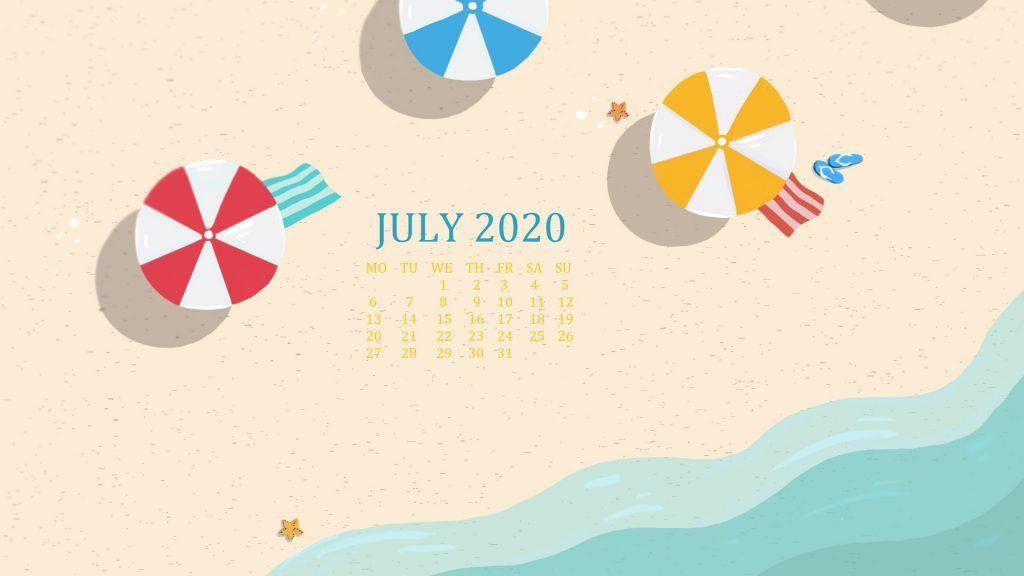 Desktop 2020 Background Screensaver Calendar Calendar