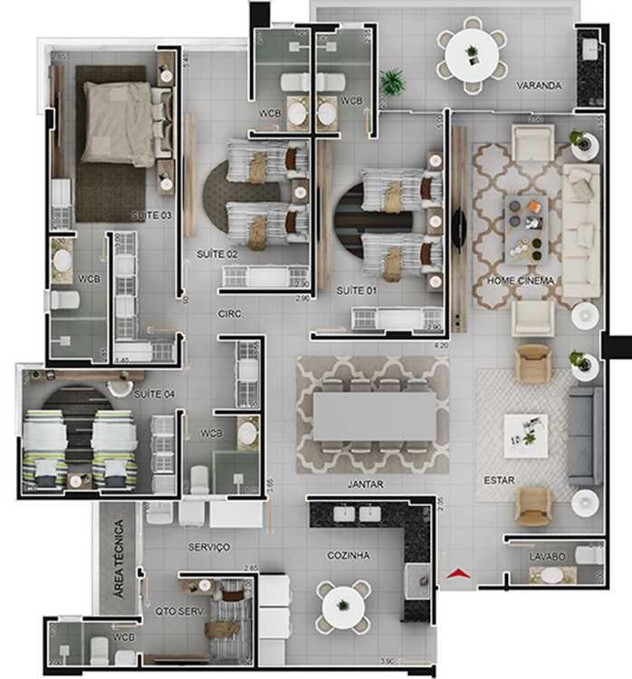 Pin de gloria aguirre en yoya casas pinterest for Planos de apartamentos modernos