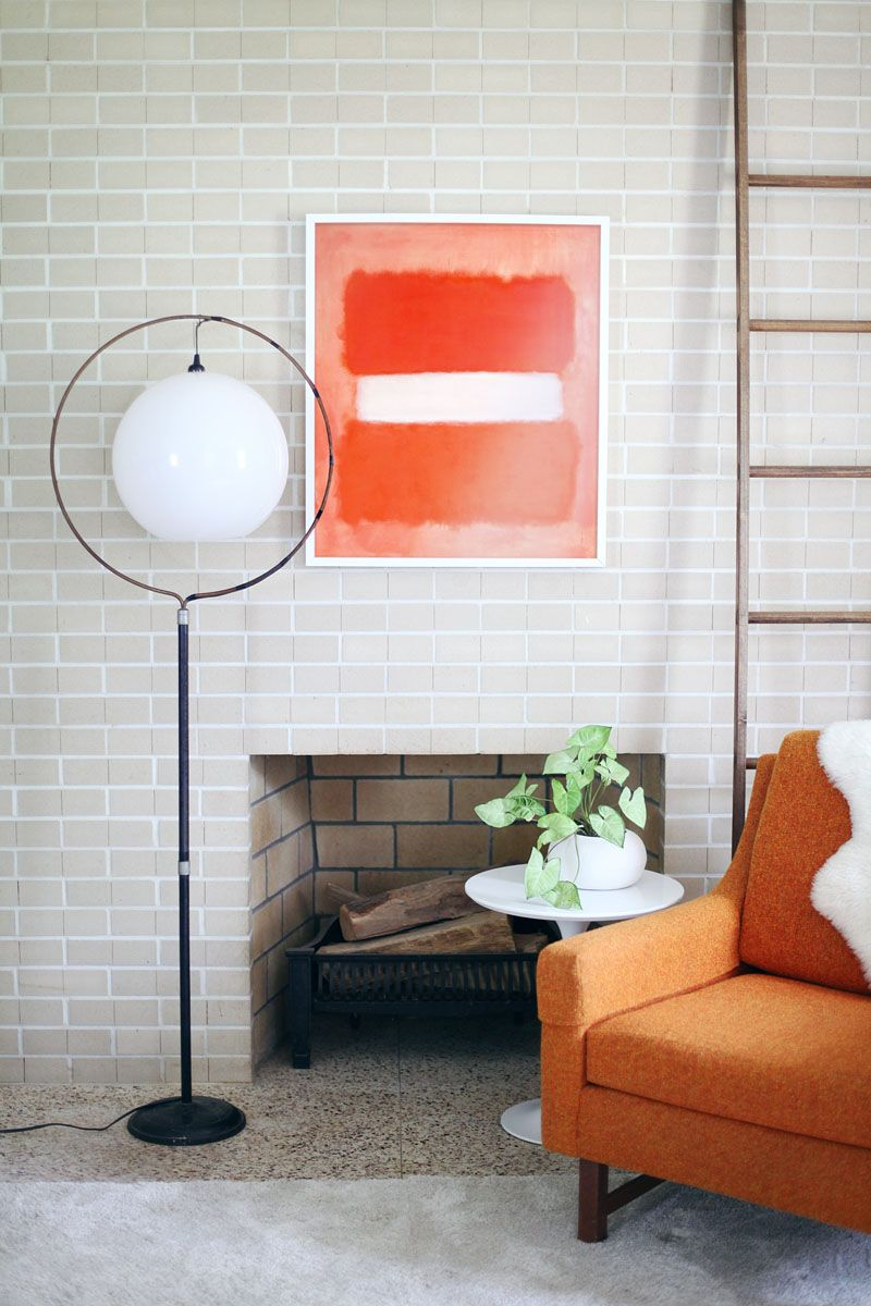 Turn a Birdcage Stand into a Mod Floor Lamp Diy floor