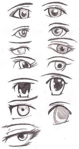 Anime Eyes Drawing Tips Anime Eyes Drawings Manga Eyes