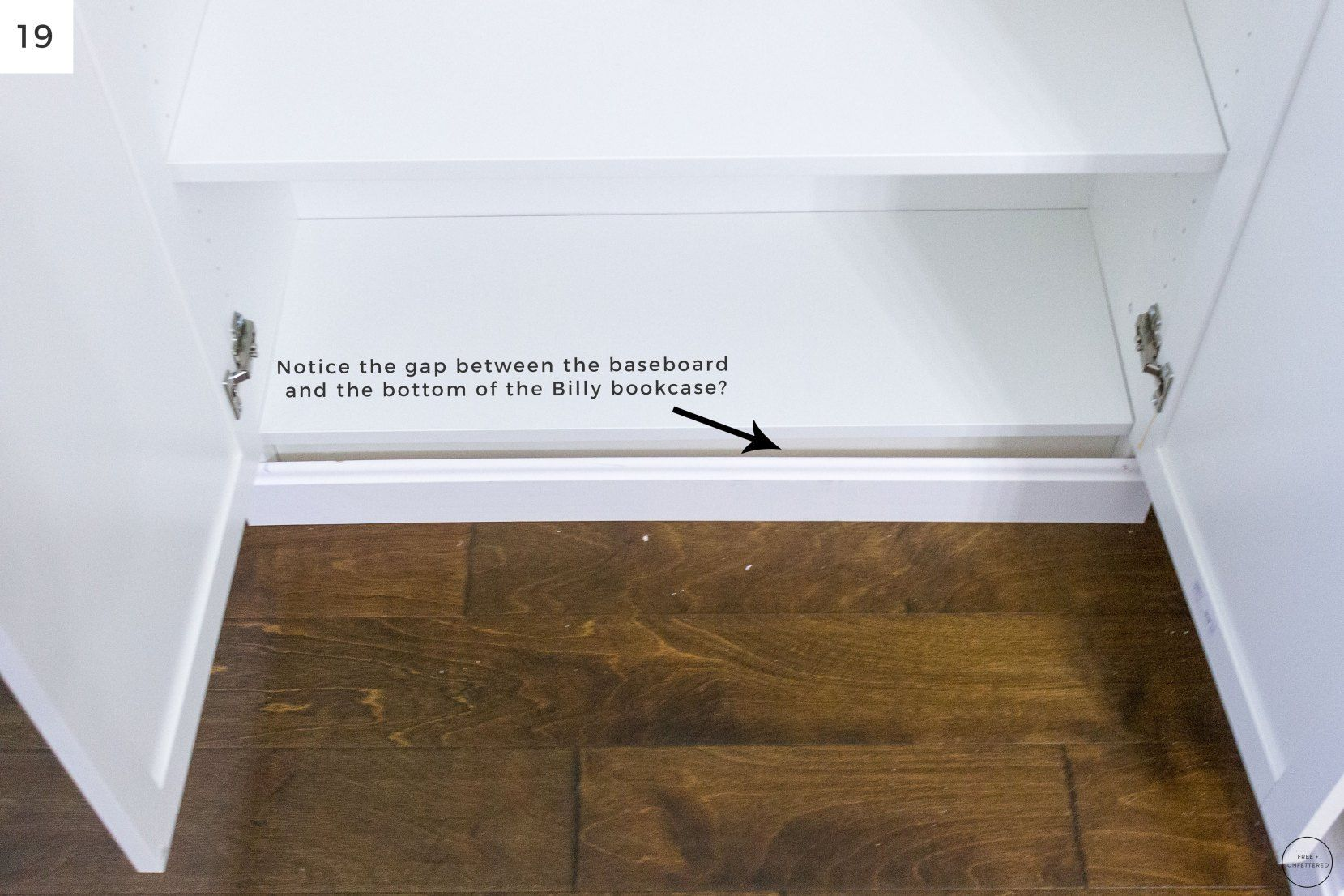 DIY: Electric Fireplace with Built-In Bookshelves ...