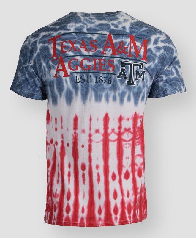 31119a9e Texas A&M Aggies Tie Dye T-shirt #AOExclusive #AggieGifts #AggieStyle