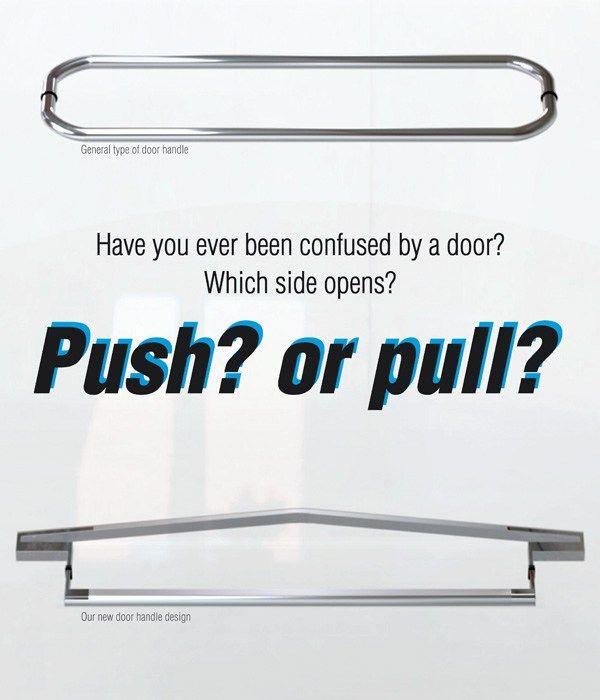 Doors, Yanko Design, Door Handles, Arrows, Slab Doors, Puertas, Lever Door  Handles, Arrow, Door Knobs