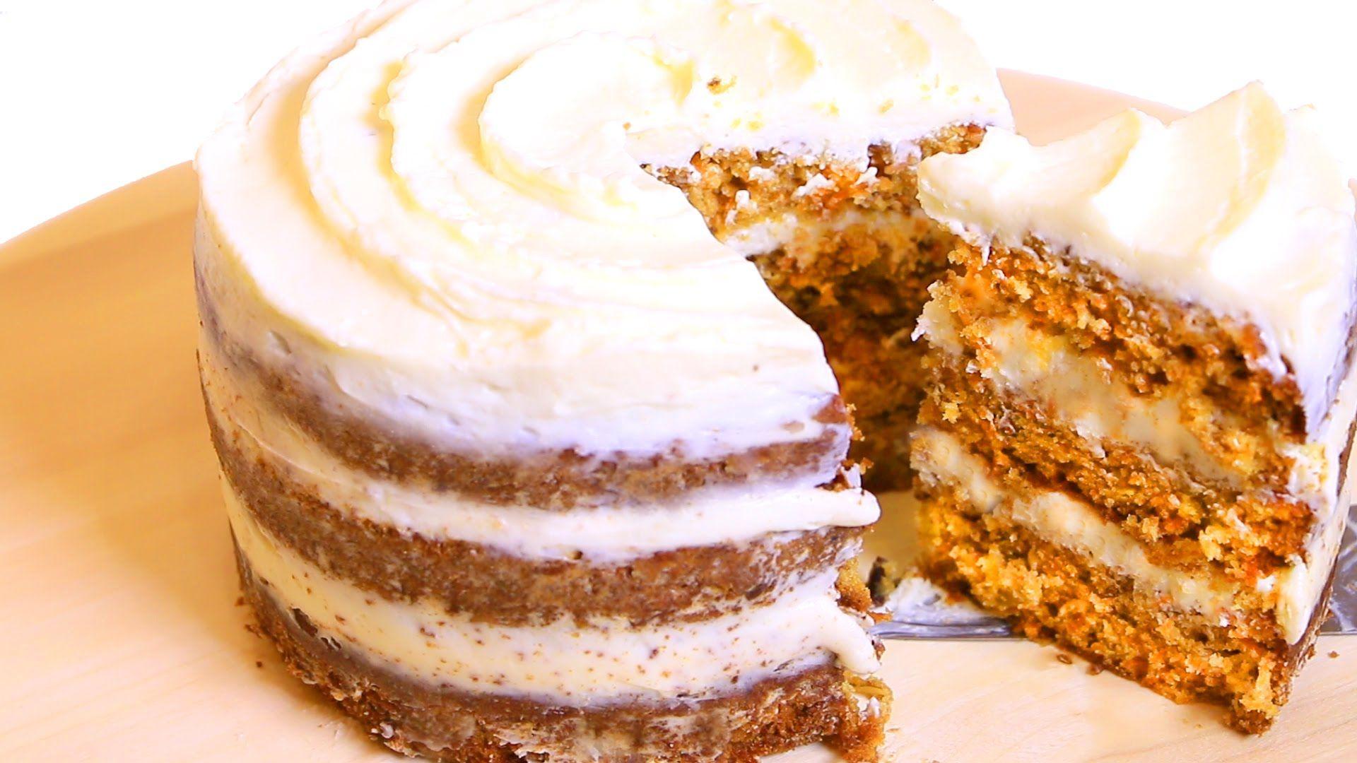 Морковный пирог с какао рецепт