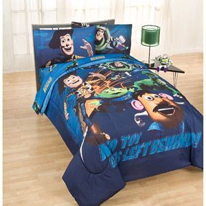 Disney Toy Story Twin Full Size Comforter 29 98 At Wal Mart