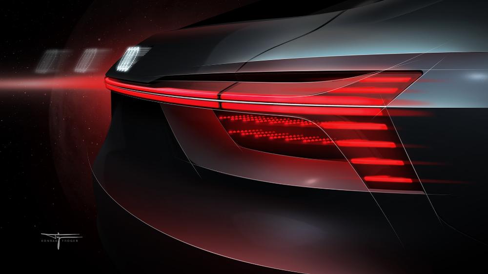 The Light Artist Audi Com Automotive Design Lights Artist Ramp Design