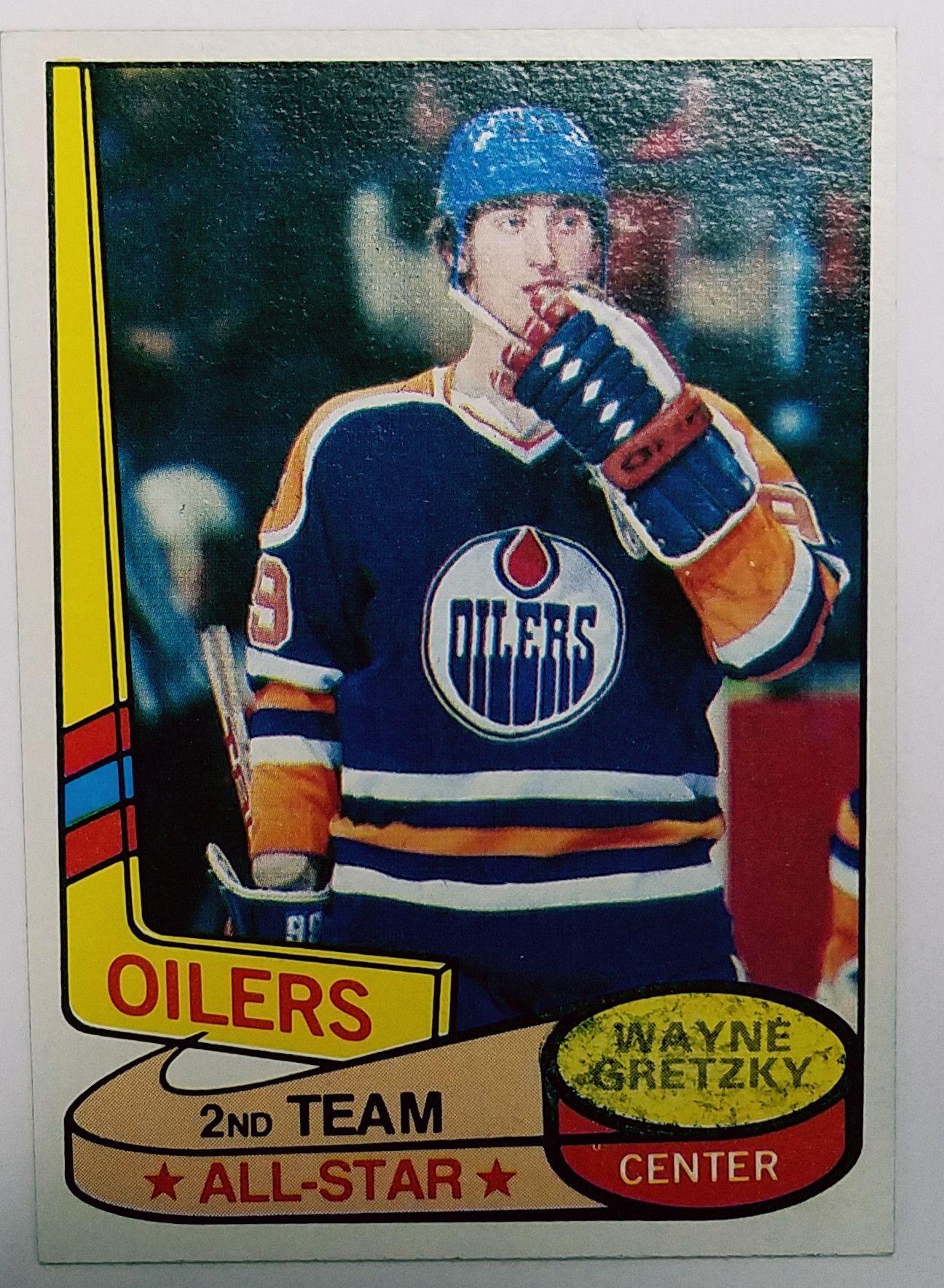 1980 Topps 87 Wayne Gretzky 2nd Year Early Original Gretzky Card Edmonton Oilers Hockey All Star Hof Stanley Wayne Gretzky Hockey Cards Edmonton Oilers