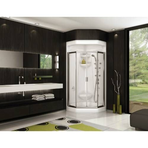 Maax 102994 Ct 000s Freestyle Shower 37 Neo Angle 2 Piece Shower