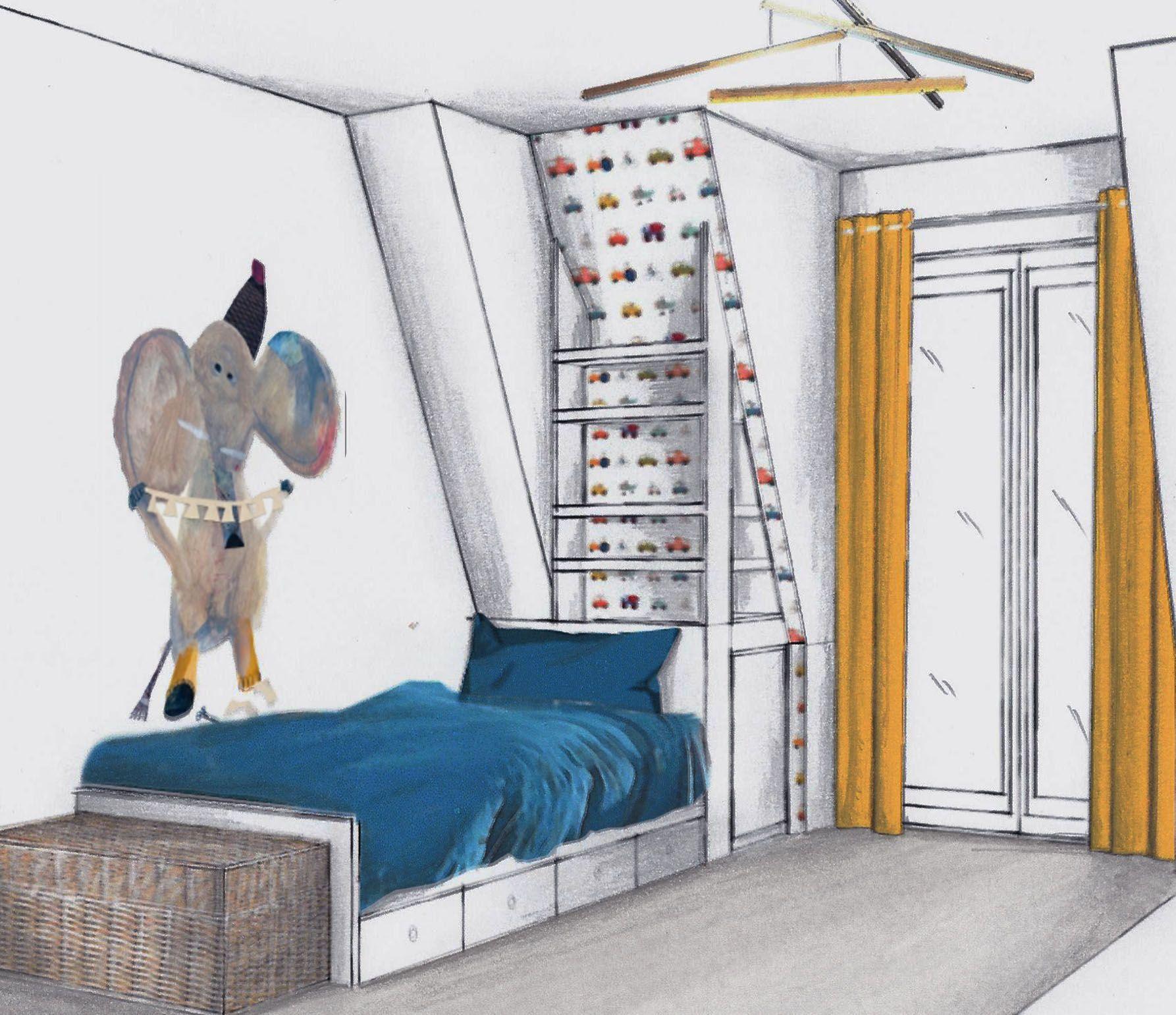 Aubervilliers Chambre Garcon Projet En 2020 Chambre Garcon Decoration Chambre