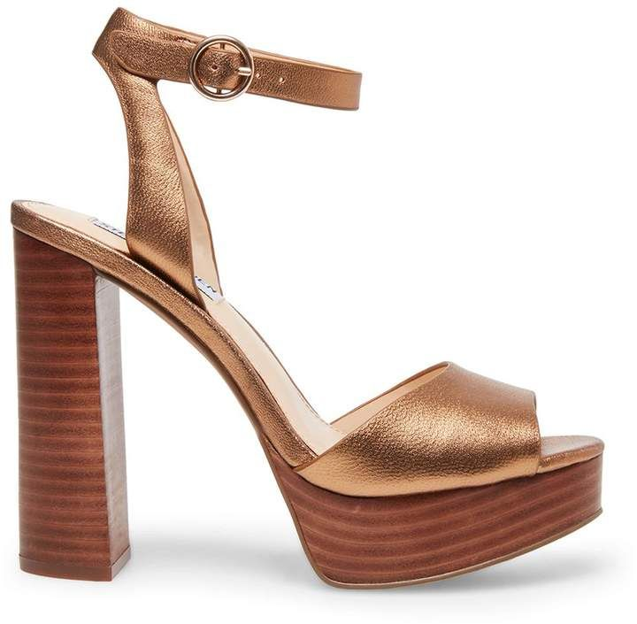 d6a30c7cce5 Steve Madden Stevemadden MADELINE BRONZE LEATHER in 2019 | Bday ...