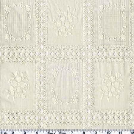 Amazon.com: 54'' Wide Vinyl Lace Country Lace Antique White Fabric By The Yard: Arts, Crafts & Sewing
