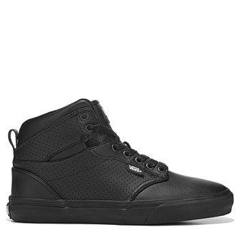 vans atwood buck leather black