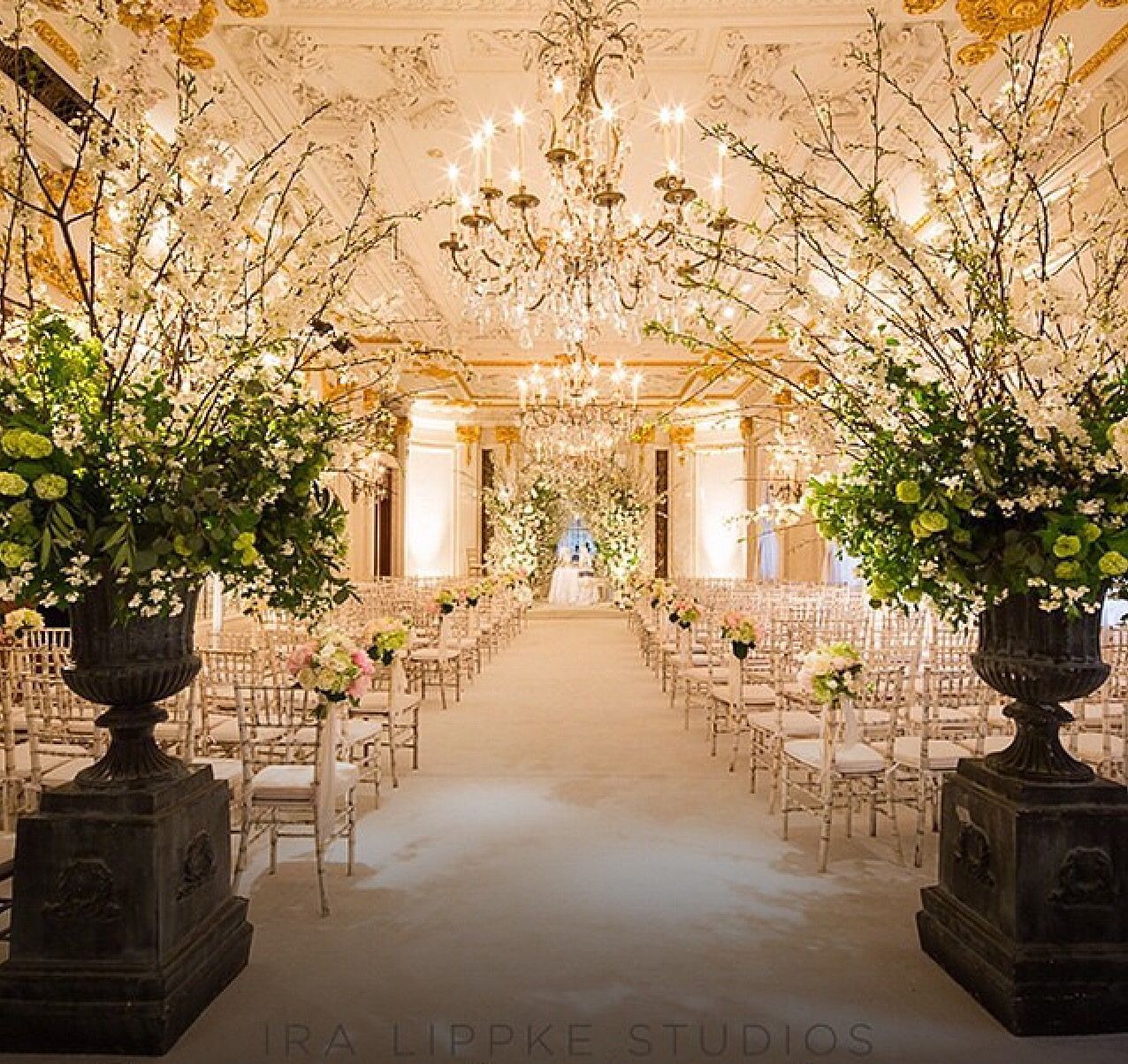 Flowers For Church Wedding Ceremony: Wedding Ceremony #stregisnewyork #Versailles #Ballroom