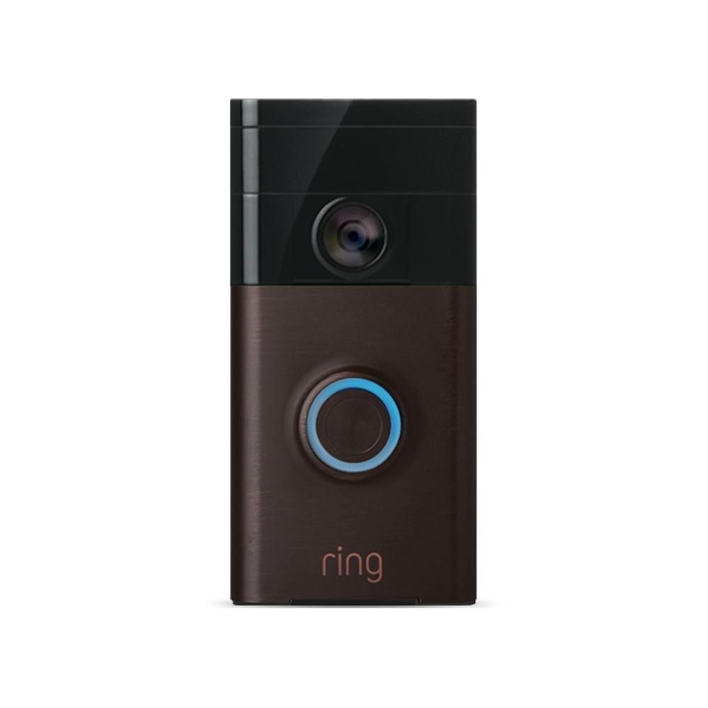 Ring 720p Wi Fi Video Wired And Wireless Smart Door Bell Camera Works With Google Home And Alexa 88rg002fc100 Ring Video Doorbell Works With Alexa Ring Video