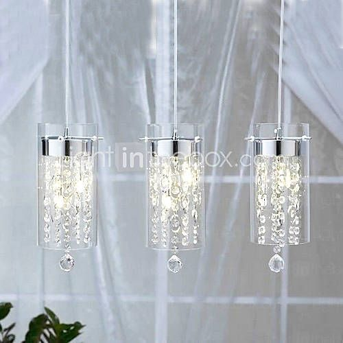 Dining lights artistic crystal pendant lights with glass shades g4 dining lights artistic crystal pendant lights with glass shades g4 bulb base aloadofball