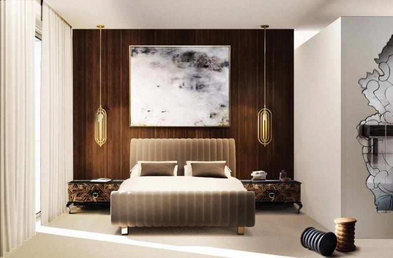 Unique Bedroom Lighting Luxury Marble Modern Floor Lamps