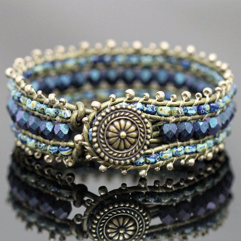 How About Our Deep Waters Leather Cuff Bracelet Instead All Through June Wrap Kits Are Off Online Only