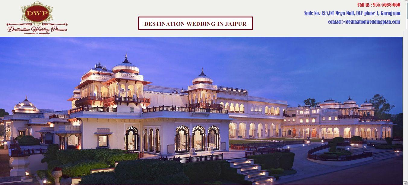 Destination Wedding Planner in Jaipur Heritage hotel