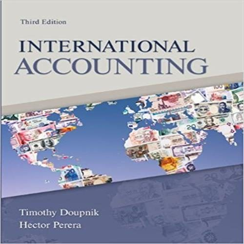test bank for international accounting 3rd edition by doupnik and rh pinterest com Accountign Manual Accountign Manual