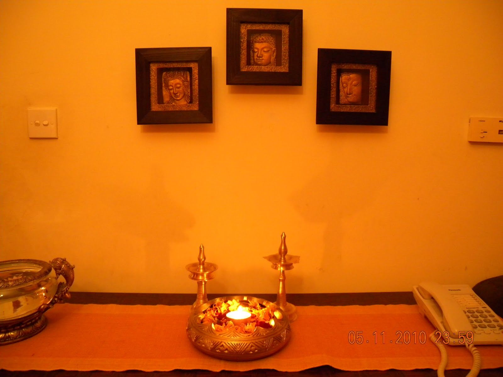 Attractive Home Decor Ideas For Diwali Part - 11: Diwali Home Decoration