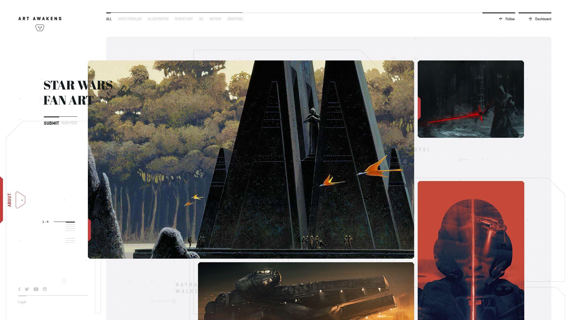 01 art awakens homepage