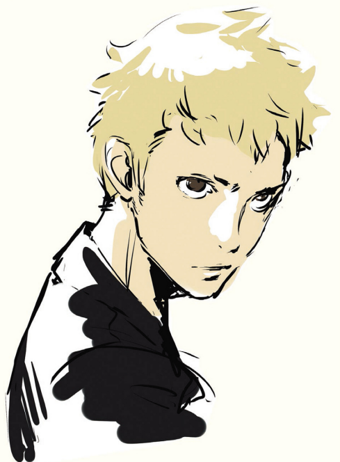 Ryuji Concept Art Persona 5 Persona Persona Five