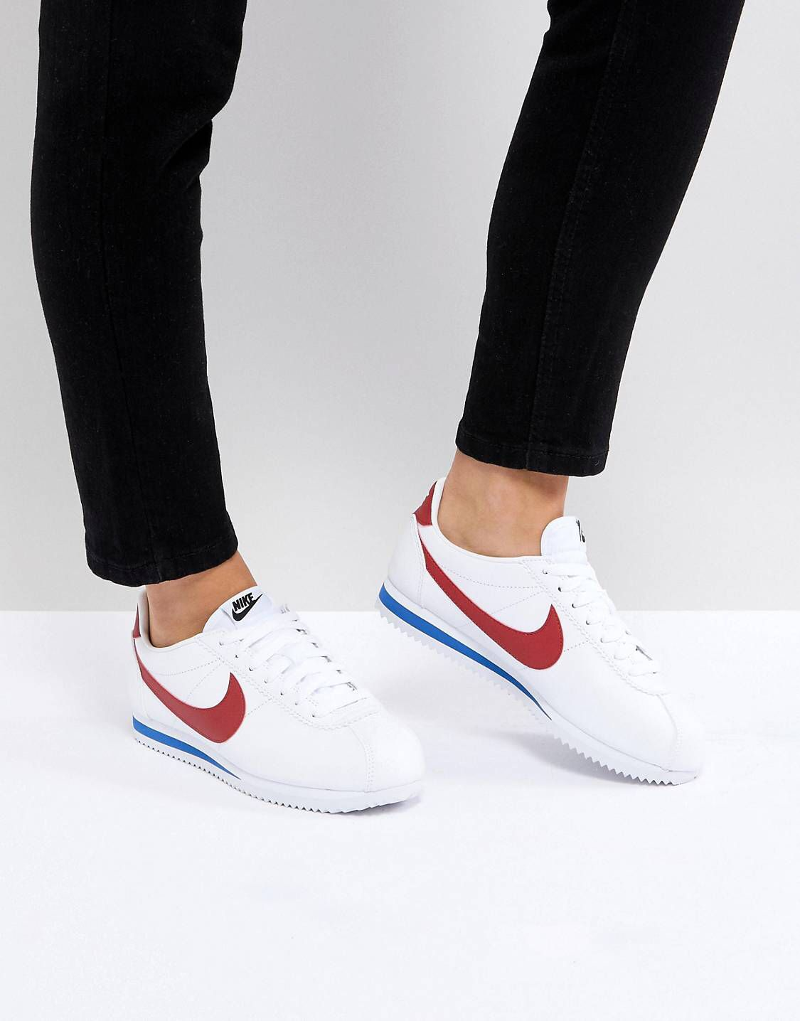 classic fit 3e26b 67196 Nike Classic Cortez trainers in retro leather | Wanted shoes ...