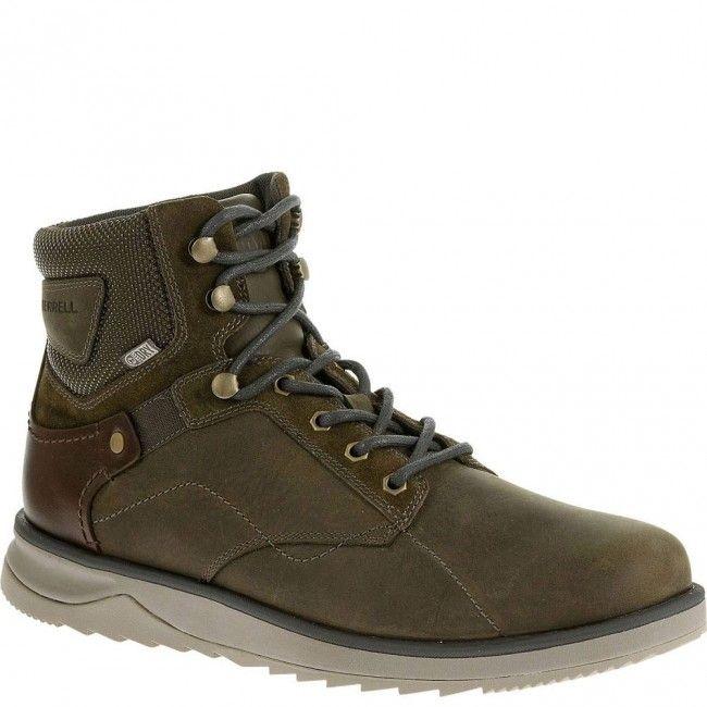 23685 Merrell Men's Epiction Mid Casual Boots - Black www.bootbay.com