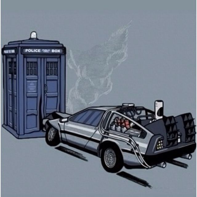 Back To The Future/ Doctor Who