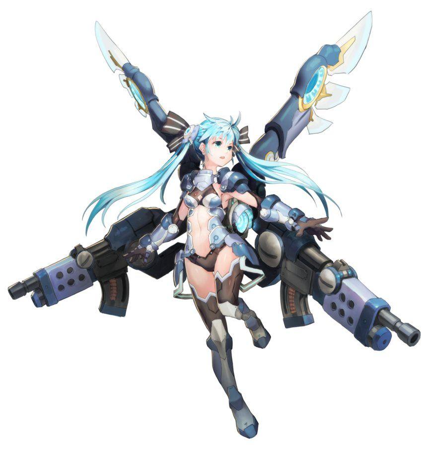 Anime Girl Armor Mecha