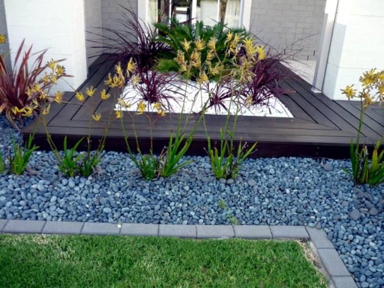 Modele De Jardin Avec Galets En 26 Exemples Inspirants Modele De Jardin Idee Amenagement Jardin Idee Deco Jardin Zen
