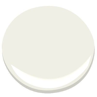 "White Dove BENJAMIN MOORE WHITE DOVE OC-17: ""The one color that people consistently pick for moldings and windows is White Dove. It has the softness of alabaster, with a little gray and a little yellow. For long-term livability, what helps is that yellow cast. Put it up against other colors and you'll see how well it works. It's practically universal."""