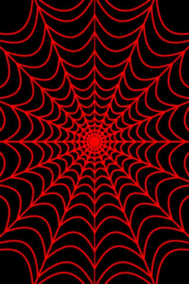 Red Web Halloween Wallpaper Iphone Halloween Wallpaper Iphone Wallpaper