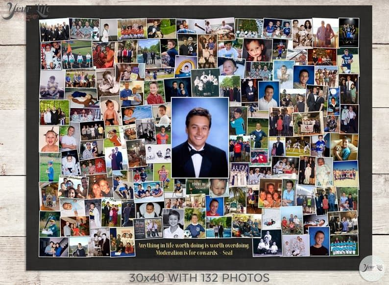 Easy Graduation Party Photo Display Ideas That Will Impress Your
