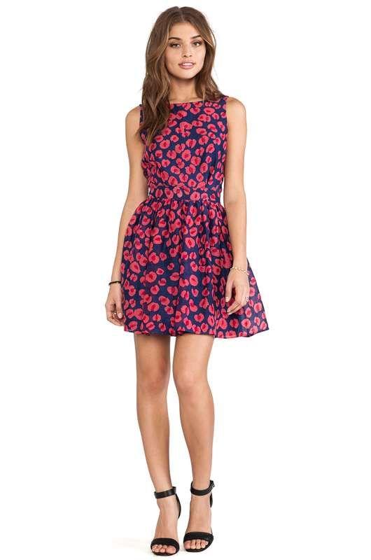 vestidos cortos estampados de moda casual elegante primavera u