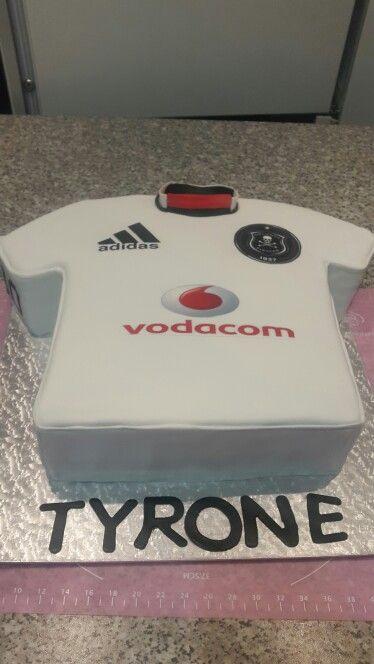 soccer tshirt birthday cake orlando pirates birthday cake