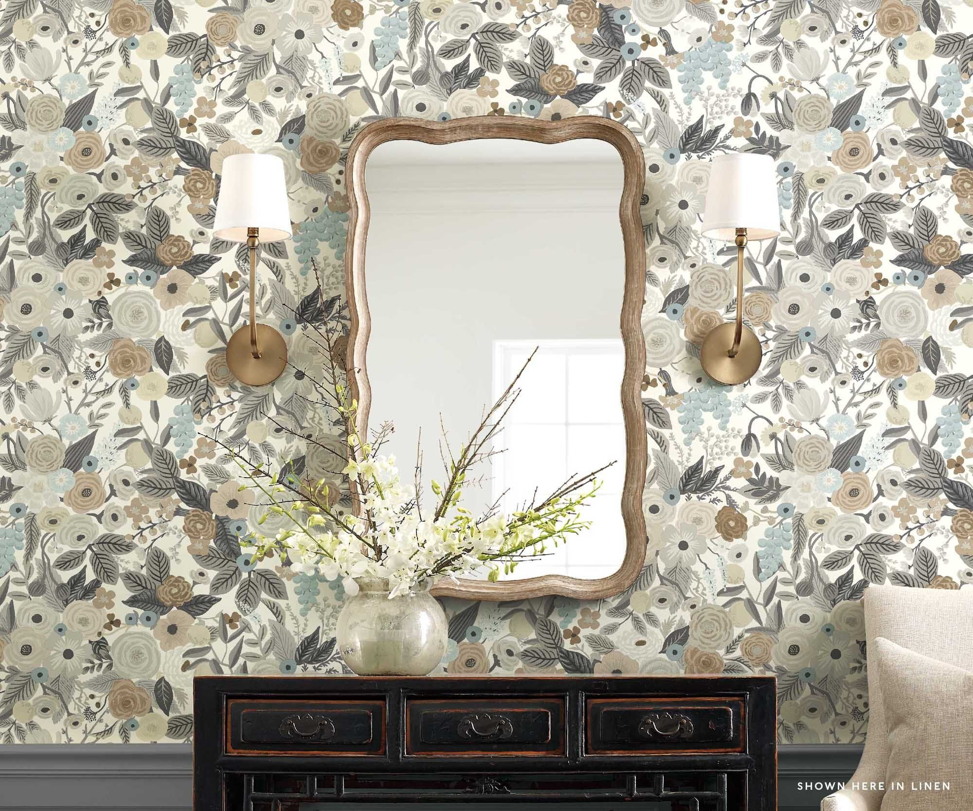 Garden Party Wallpaper In 2020 Wallpaper Samples Peel And S
