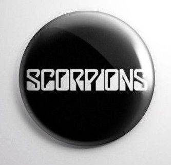 Scorpions Vintage Button https://www.facebook.com/FromTheWaybackMachine/