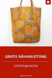 Photo of Tasche mit Lederriemen nähen: so geht's! #Fashion #Style #Stylish #Liebe #Cute #P …