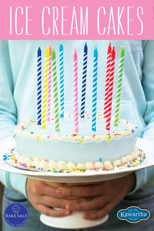 Ice Cream Cake Poster From Bake Sale Toronto Meri Meri Candles