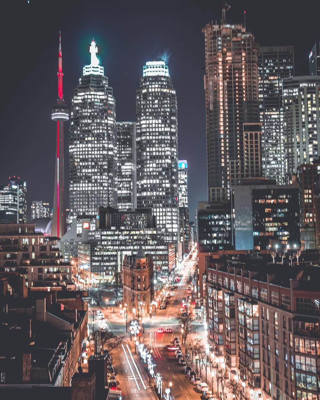 Toronto at Night! 2017 Canada photography, Toronto