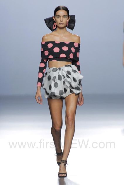 Maria Escote, Spring 2016, Madrid, firstVIEW.com