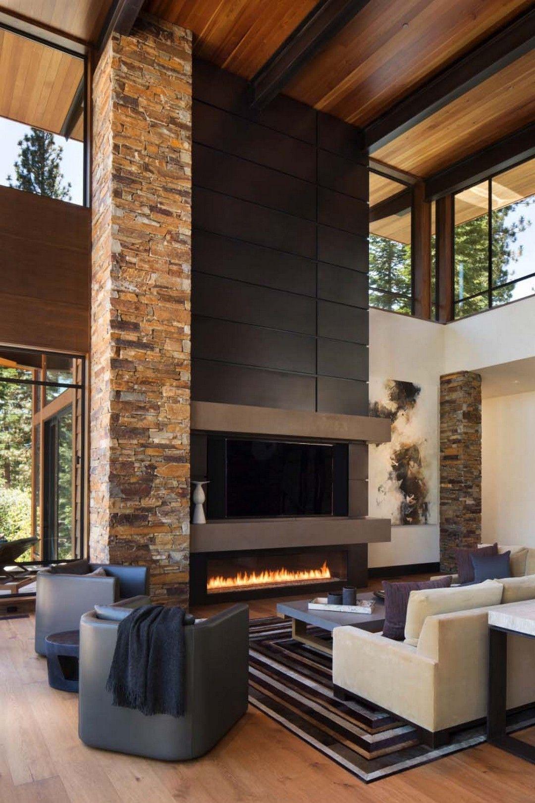 52 Modern Cozy Mountain Home Design Ideas | Farmhouse & Rustic Home ...