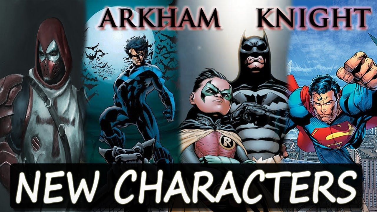 Batman Arkham Knight Pc Mod Brings Playable Characters In Free